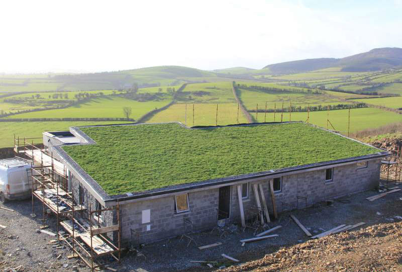 Green Roof at Kiloskeen, Co. Tipperary