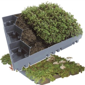 EcoGrid for Green Roofs | Landtech Soils