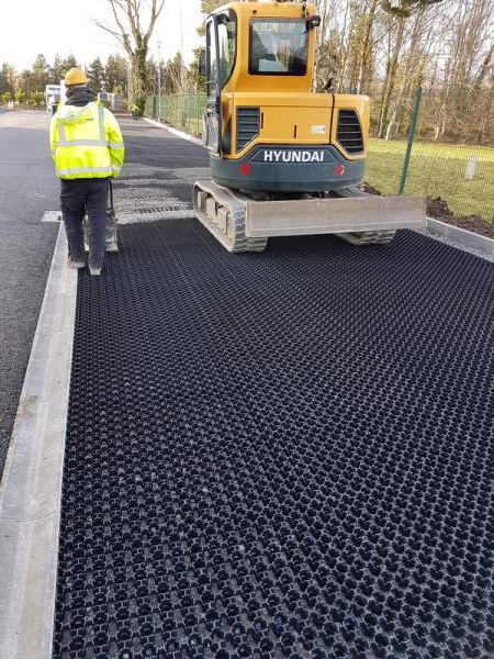 Ground Protection Grids | Geogrid